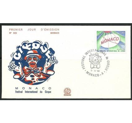 Znaczek Monako 1980 Mi 1444 FDC