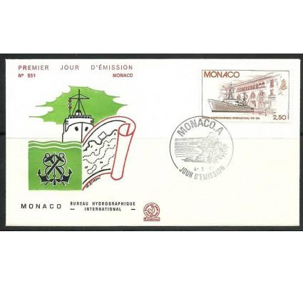 Znaczek Monako 1981 Mi 1479 FDC