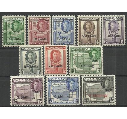 Znaczek Somaliland 1951 Mi 109-119 Z podlepką *