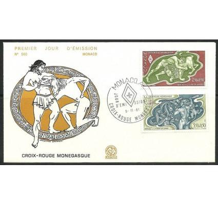Znaczek Monako 1981 Mi 1489-1490 FDC