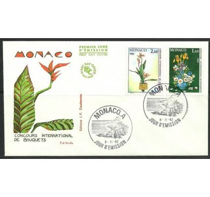 Znaczek Monako 1982 Mi 1558-1559 FDC