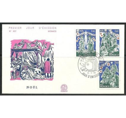 Znaczek Monako 1982 Mi 1561-1563 FDC