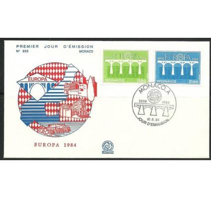 Znaczek Monako 1984 Mi 1622-1623 FDC