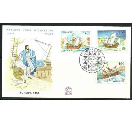 Znaczek Monako 1992 Mi 2070-2072 FDC