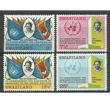Znaczek Suazi 1969 Mi 175-178 Czyste **