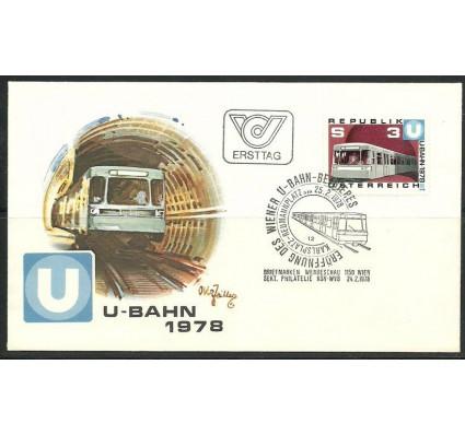 Znaczek Austria 1978 Mi 1567 FDC