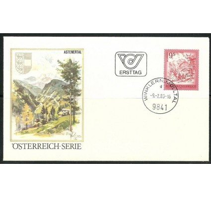 Znaczek Austria 1983 Mi 1730 FDC