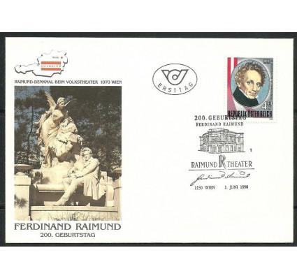 Znaczek Austria 1990 Mi 1993 FDC
