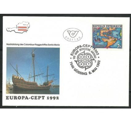 Znaczek Austria 1992 Mi 2062 FDC