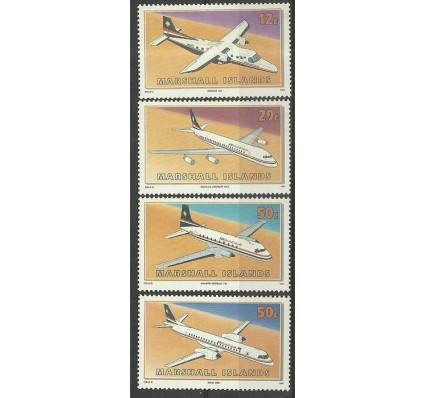 Znaczek Wyspy Marshalla 1991 Mi 372-375 Czyste **
