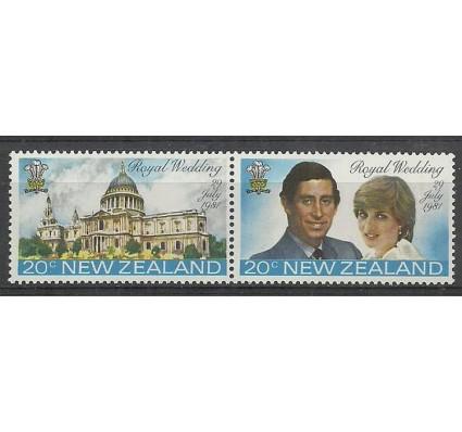 Znaczek Nowa Zelandia 1981 Mi 826-827 Czyste **