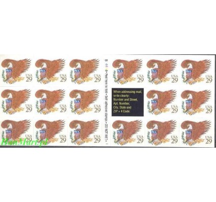 USA 1992 Mi ark 2321 Czyste **