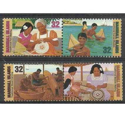 Znaczek Wyspy Marshalla 1996 Mi 776-779 Czyste **