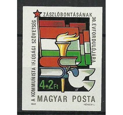Znaczek Węgry 1987 Mi 3885B Czyste **