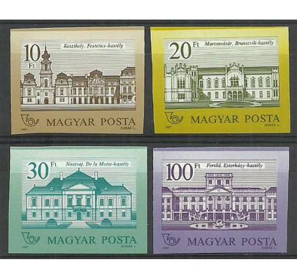 Znaczek Węgry 1987 Mi 3901-3904B Czyste **