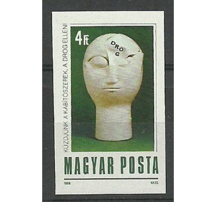 Znaczek Węgry 1988 Mi 3971B Czyste **