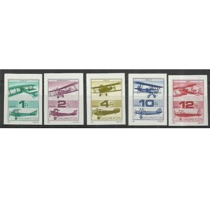 Znaczek Węgry 1988 Mi 3984-3988B Czyste **