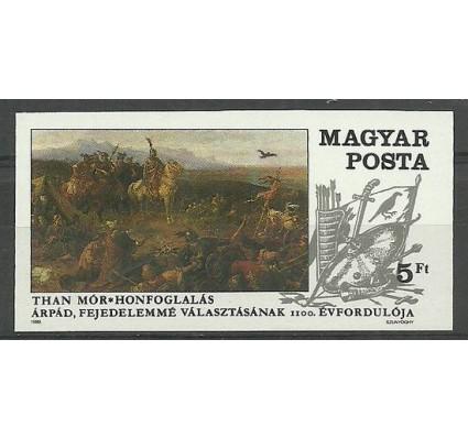 Znaczek Węgry 1989 Mi 4053B Czyste **