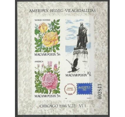Znaczek Węgry 1986 Mi bl 184B Czyste **