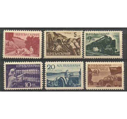 Znaczek Bułgaria 1949 Mi 690-695 Czyste **