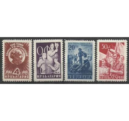 Znaczek Bułgaria 1949 Mi 712-715 Czyste **