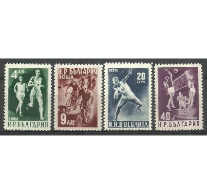 Znaczek Bułgaria 1950 Mi 749-752A Czyste **