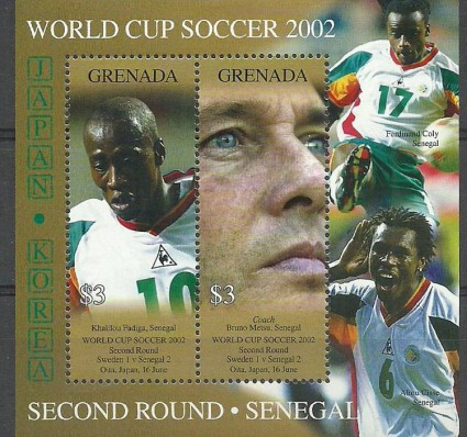 Znaczek Grenada 2002 Mi bl693 Czyste **