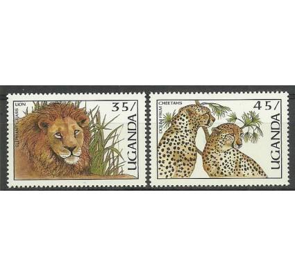 Znaczek Uganda 1987 Mi 519-520 Czyste **