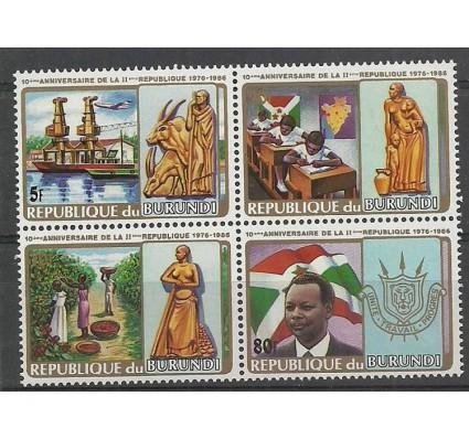 Znaczek Burundi 1986 Mi I-IV Czyste **