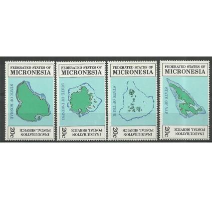 Znaczek Mikronezja 1984 Mi 1-4 Czyste **