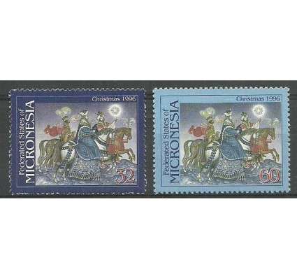 Znaczek Mikronezja 1996 Mi 526-527 Czyste **