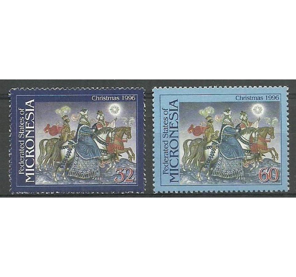 Mikronezja 1996 Mi 526-527 Czyste **