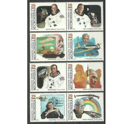 Znaczek Mikronezja 1994 Mi 344-351 Czyste **