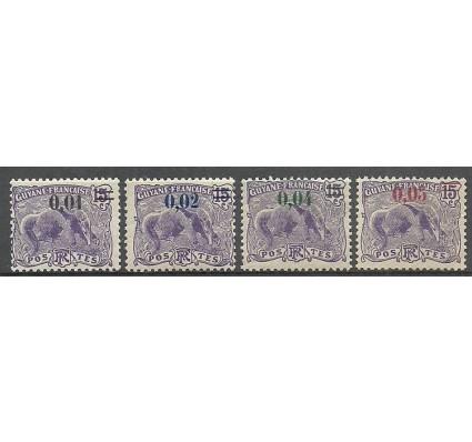 Znaczek Gujana 1922 Mi 94-97 Z podlepką *