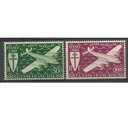 Znaczek Gujana 1945 Mi 205-206 Z podlepką *