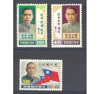 Znaczek Tajwan 1965 Mi 586-588 Czyste **