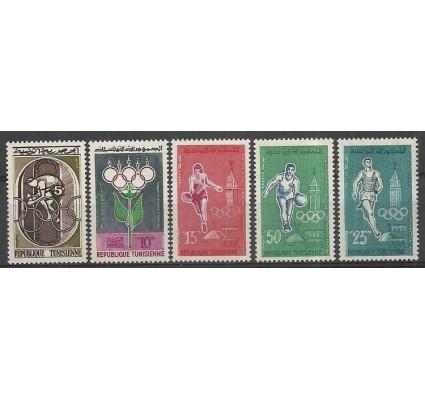 Znaczek Tunezja 1960 Mi 562-566 Z podlepką *