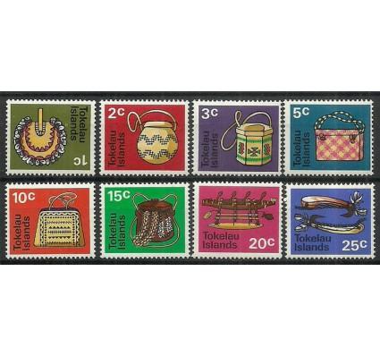 Znaczek Tokelau 1971 Mi 18-25 Z podlepką *