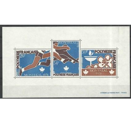 Znaczek Polinezja Francuska 1976 Mi bl3 Czyste **