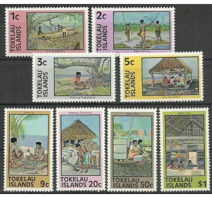 Znaczek Tokelau 1976 Mi 42-49 Czyste **