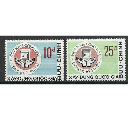 Znaczek Wietnam Południowy 1972 Mi 509-510 Czyste **