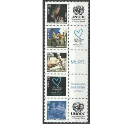 Znaczek Narody Zjednoczone Wiedeń 2010 Mi 634-638 Czyste **