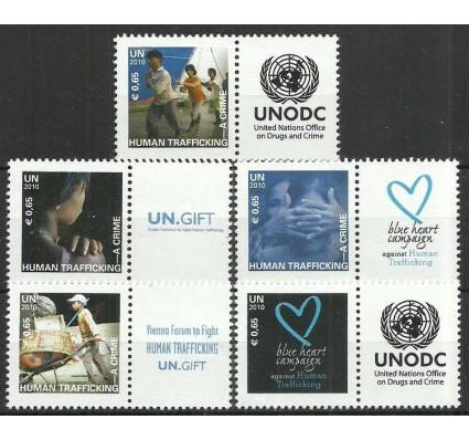 Znaczek Narody Zjednoczone Wiedeń 2010 Mi zf634-638 Czyste **