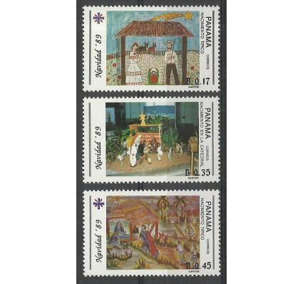 Znaczek Panama 1989 Mi 1700-1702 Czyste **