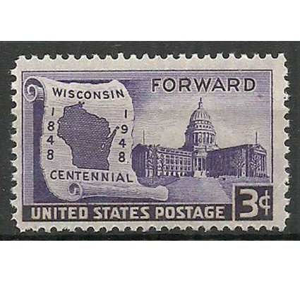 Znaczek USA 1948 Mi 569 Czyste **