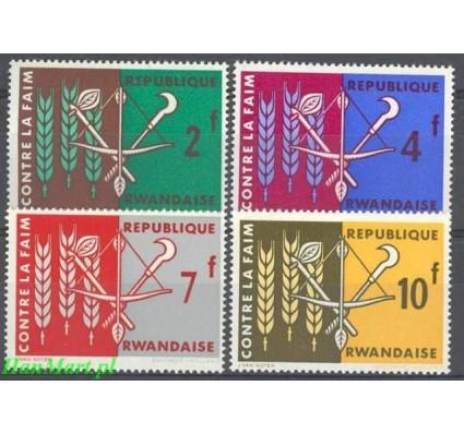 Rwanda 1963 Mi 23-26 Czyste **