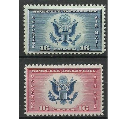 Znaczek USA 1934 Mi 374-375 Z podlepką *