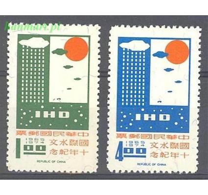 Tajwan 1968 Mi 675-676 Czyste **