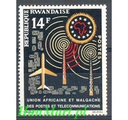 Rwanda 1963 Mi 36 Czyste **