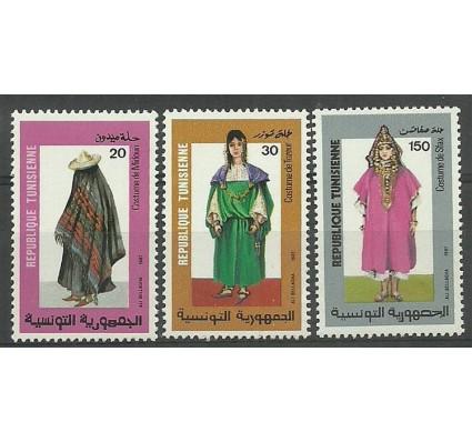 Znaczek Tunezja 1987 Mi 1157-1159 Czyste **